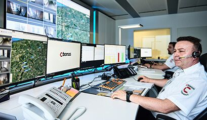 Notruf- & Serviceleitstelle, NSL | CIBORIUS Security & Service Solutions
